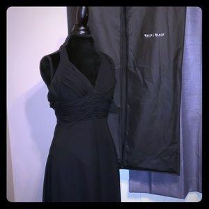 WHBM Little black dress w/garment bag sz 4